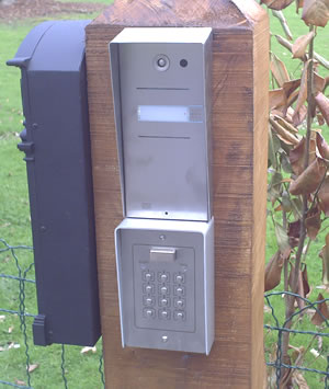Video and keypad entry system